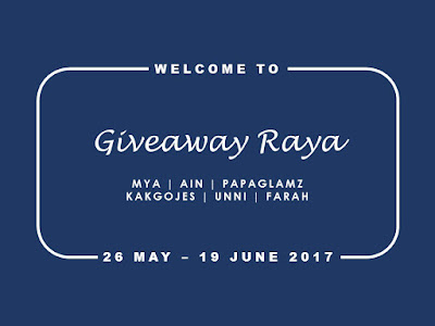 Giveaway, Blogger, Raya, Duit, Cash, Money, Hadiah, Blog, Lucky Draw,