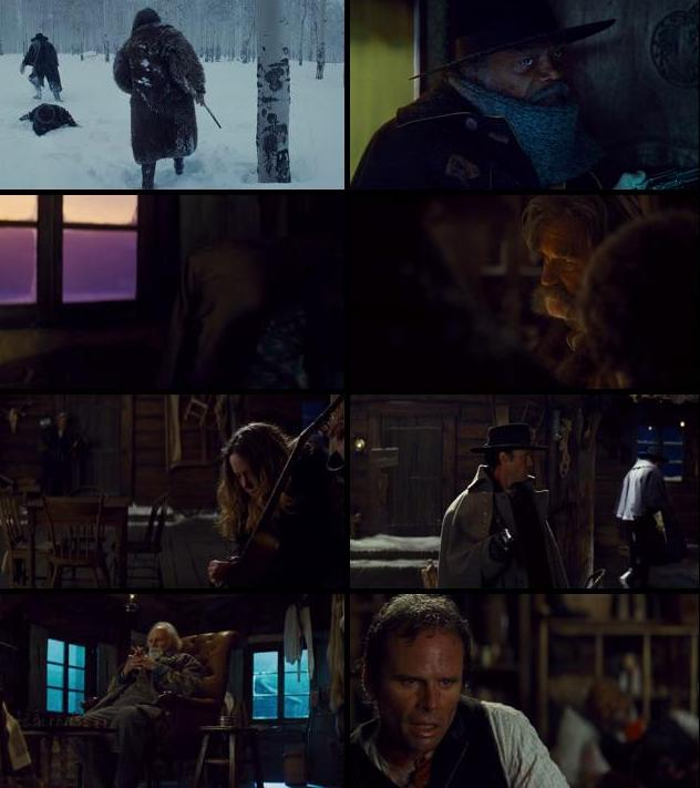 The Hateful Eight 2015 English 720p BRRip 1.4GB ESubs