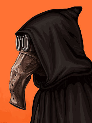 San Diego Comic-Con 2017 Exclusive Star Wars Garindan Portrait Print by Mike Mitchell x Mondo