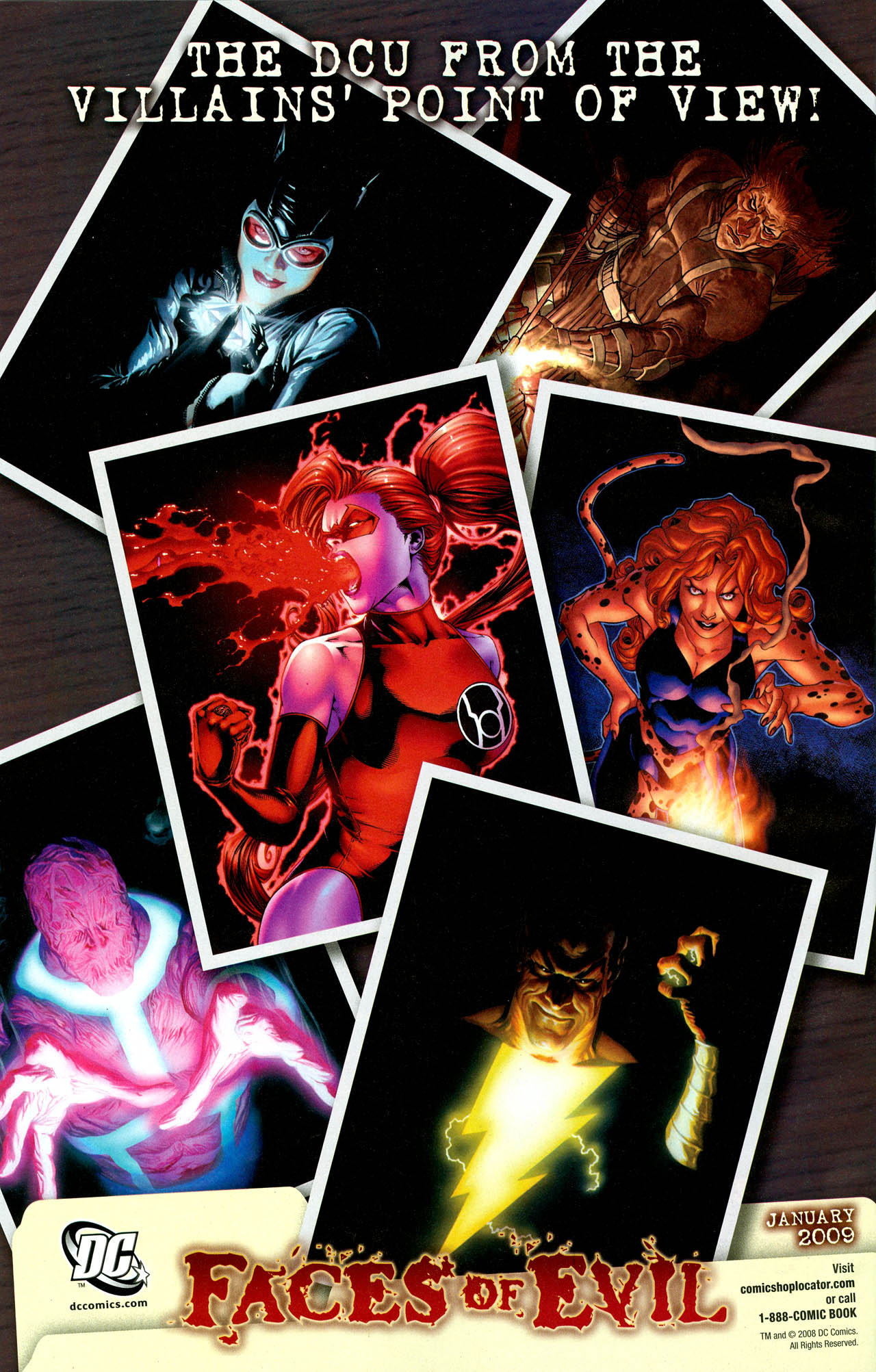 Read online Trinity (2008) comic -  Issue #30 - 33