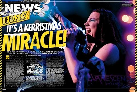 Entrevista a Amy Lee - Diciembre 2016 [KERRANG UK!]