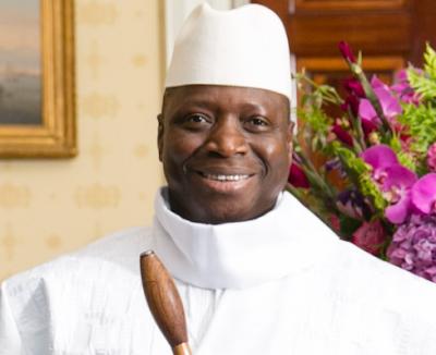 Gambia's president, Yahya Jammeh,