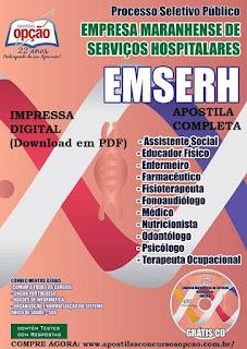 Apostila Concurso EMSERH MARANHÃO - FESMA 2015 - PDF