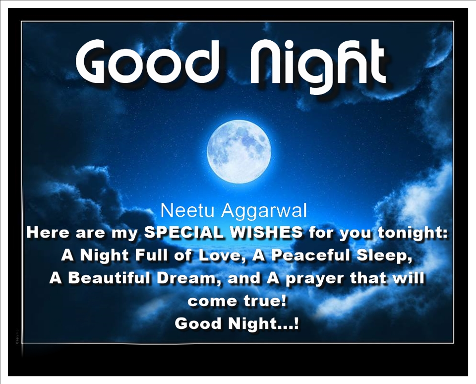 Good Night Blessings Images And Quotes: Short Stories , Quotes, Wishes And Blessings: Good Night
