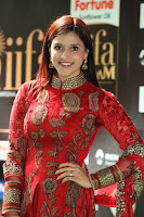 Mannara Chopra and Khushbu in Red at IIFA Utsavam Awards 2017  Day 2  Exclusive 07.JPG