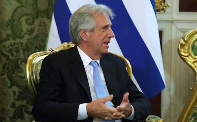 President of Uruguay Tabare Vazquez.