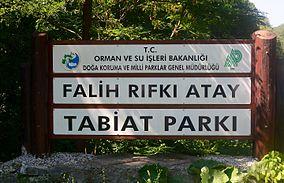 Falih Rıfkı Atay Tabiat Parkı