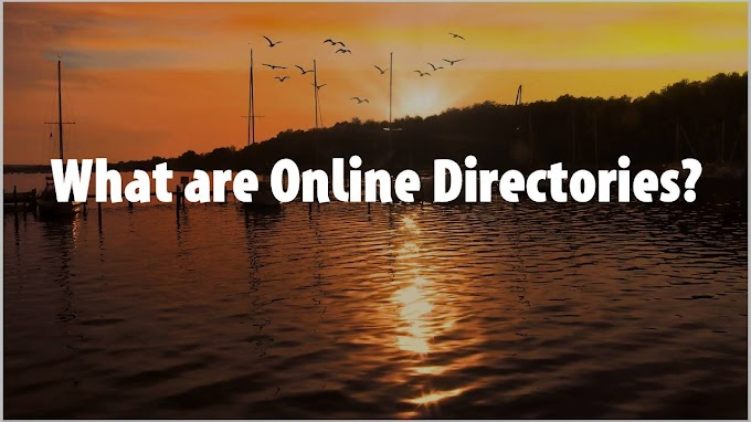 What are Online Directories?