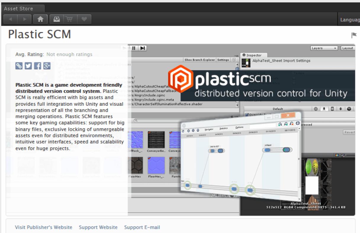 Plastic SCM blog: Holographic development with Unity