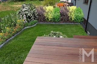 Projekt ogrodu przy domu szeregowym
