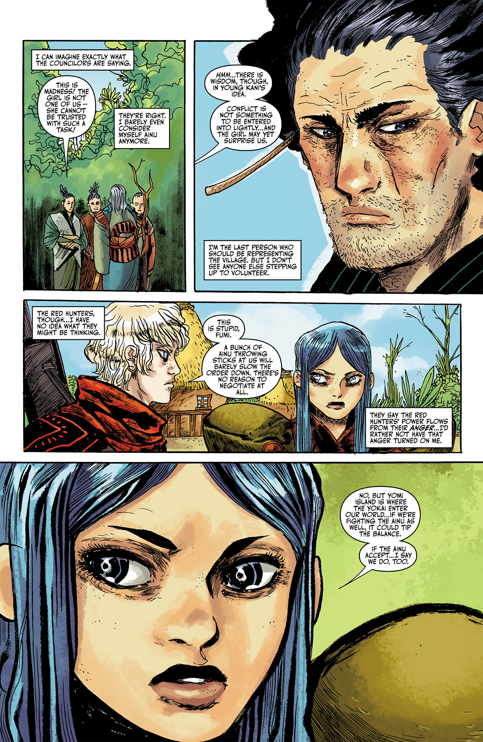 Read online Akaneiro comic -  Issue #1 - 13