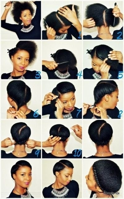 Protective Hairstyles On Short Natural Hair Without Weave Frobunni