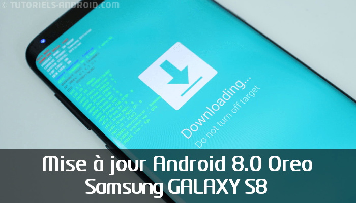 G950FXXU1CRB7 Android 8.0 pour GALAXY S8