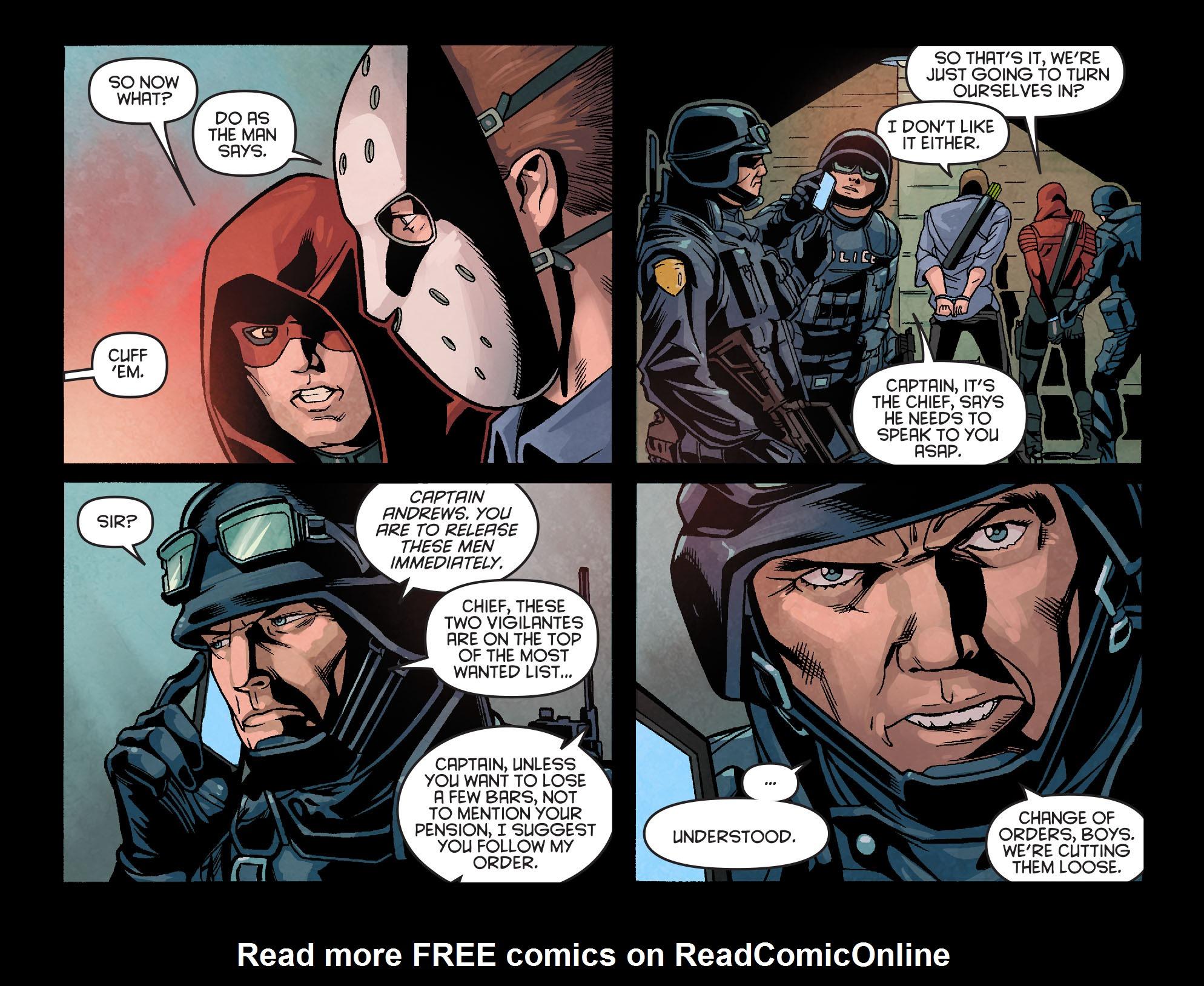 Read online Arrow: Season 2.5 [I] comic -  Issue #18 - 14