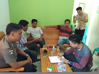 Bhabinkamtibmas selesaikan Problem Solving di Desa Sungai Kupah