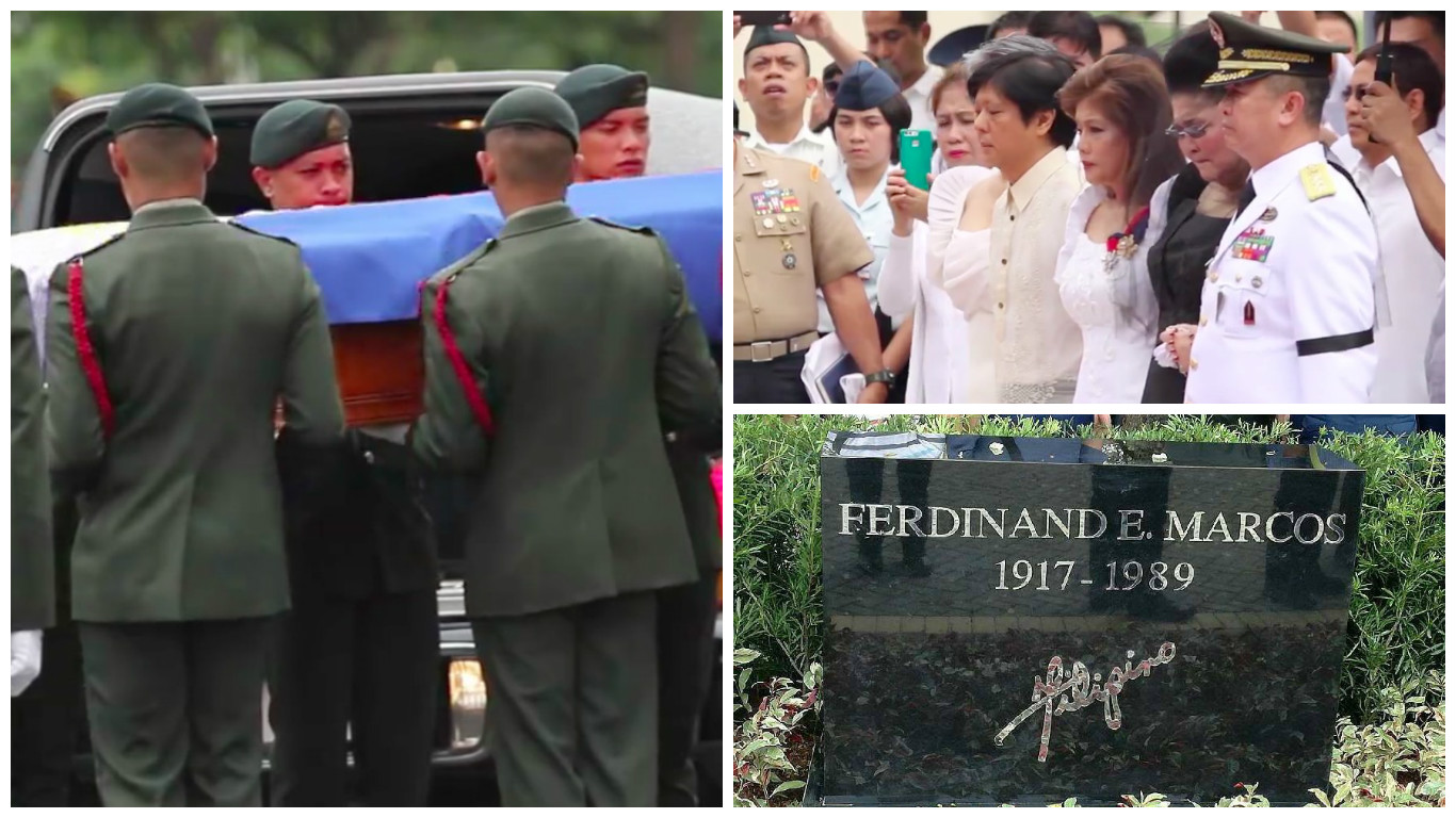 Marcos Surprise Burial at the Libingan ng mga Bayani: A Mark of a Thief?