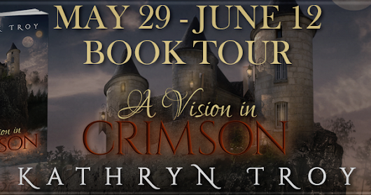 Blog Tour Stop: A vision in Crimson - Spotlight - Giveaway