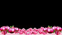 16x9_Transparent_PNG_Christmas_Frame _bolinhas 2 e rosa png