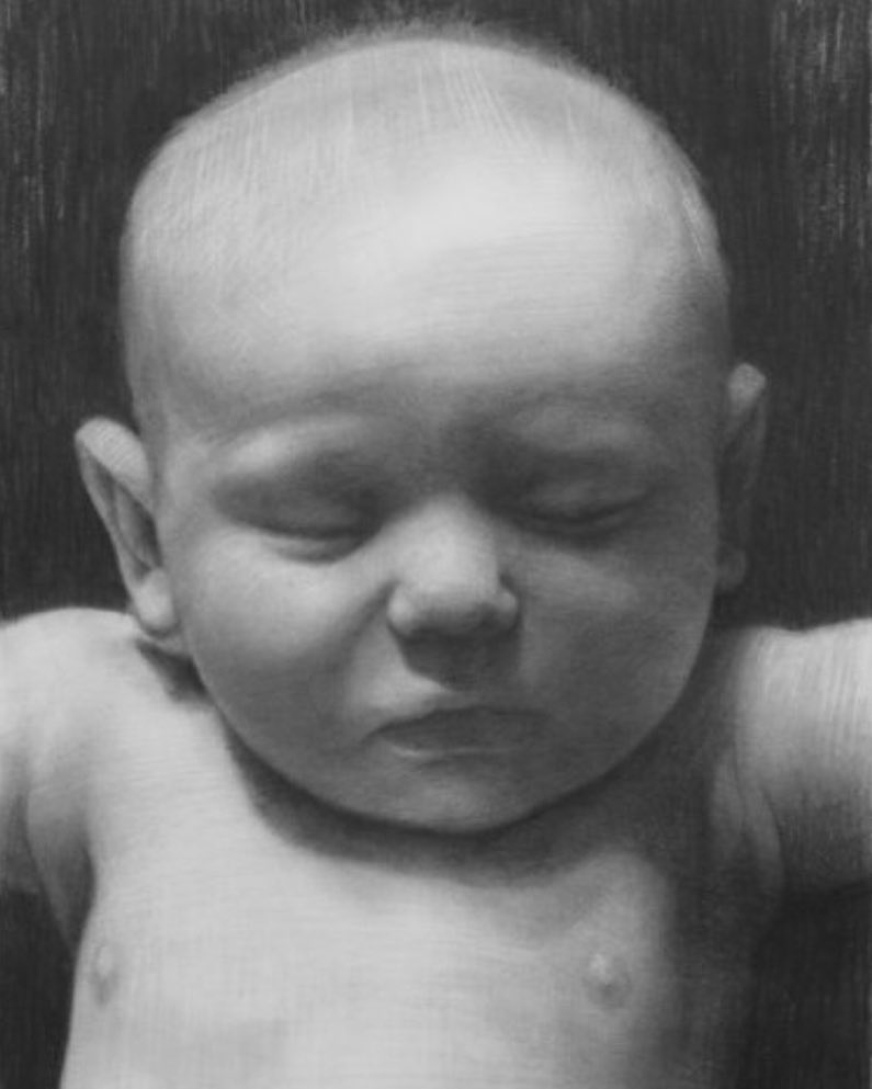 09-The-artists-son-at-3-David-Kassan-Charcoal-Portrait-Drawings-of-Ordinary-People-www-designstack-co