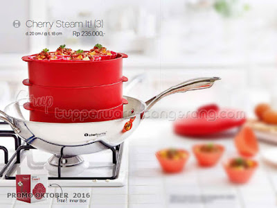 Cherry Steam It ~ Tupperware Promo Oktober 2016