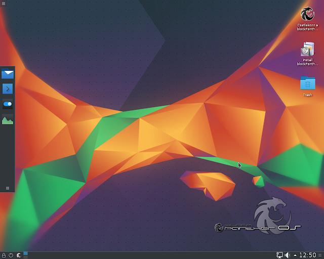 Lançado o GNU/Linux blackPanther OS 16.1, confira ou faça o download!