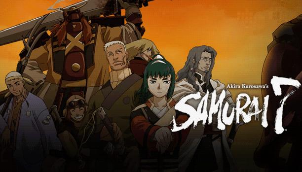 Samurai 7 - Daftar Anime Samurai Terbaik Sepanjang Masa
