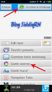 Cara Membuat Tulisan Berwarna Keren di WhatsApp Android