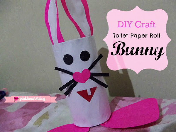 DIY Craft: 10 Minutes Toilet Paper Roll Bunny