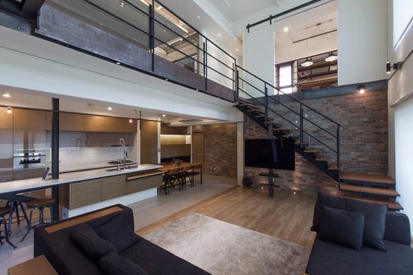 Two Level Contemporary Home Interior Design Home Design
