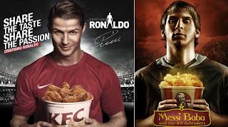 Los derechos de imagen en el fútbol: Messi, Cristiano y Neymar