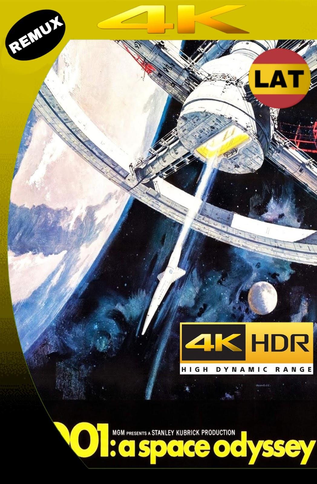 2001: ODISEA DEL ESPACIO 1968 LAT-ING UHD 4K HDR BDREMUX 2160P MKV