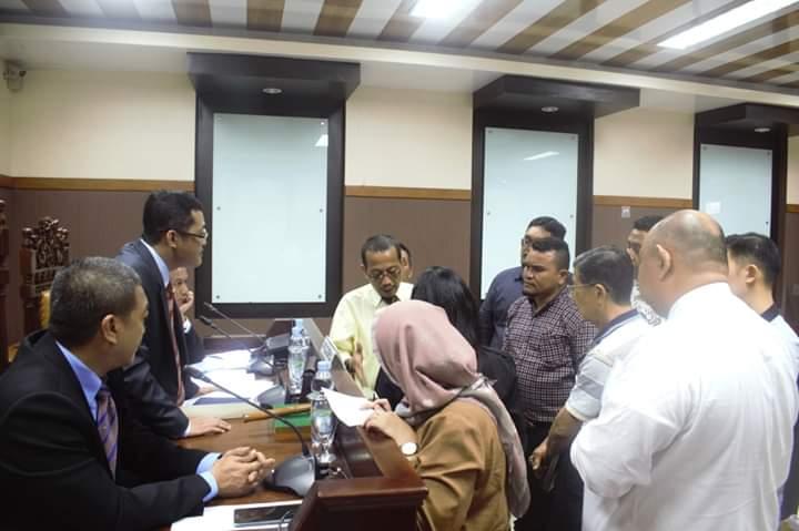 Sidang Pemeriksaan Lanjutan Perkara Paket Pembangunan Jalan Balige By Pass