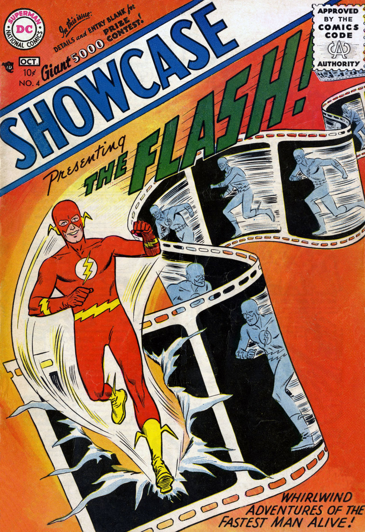 Read online Showcase comic -  Issue #4 - 1