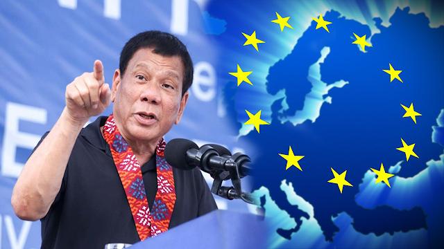 Finally! EU supports drug war campaign of President Duterte
