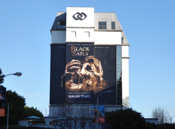 Giant Black Sails final season 4 billboard