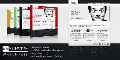 Survive Wordpress Theme