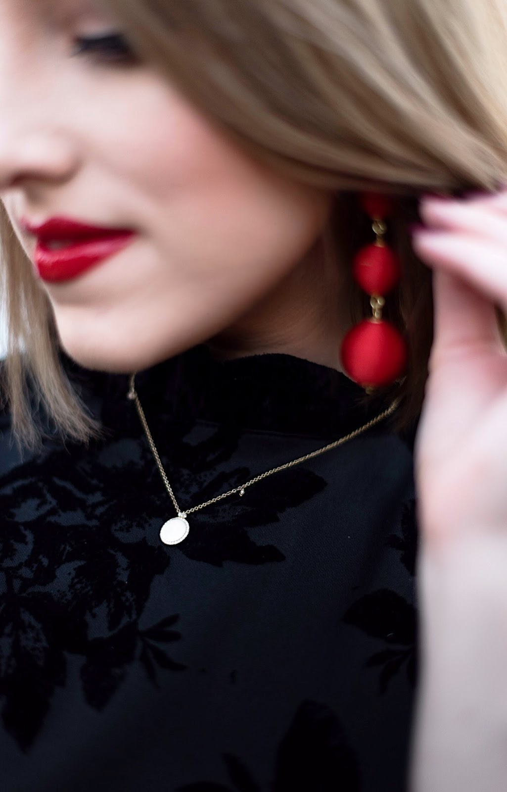 Criselda Ball Drop Earrings - Something Delightful Blog