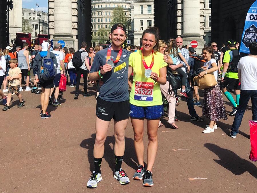 London Marathon Finisher