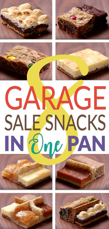 Garage Sale Lemonade Stand Tips - Make 8 popular desserts in ONE pan! (Recipe/Video)