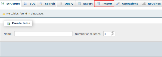 Cara Restore Database Di PHPMyadmin Hosting Dengan Mudah