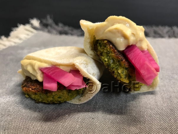 Butternut Squash Falafel as Appetizers