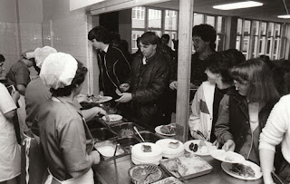 School dinners, Gypsy Tart, dinner ladies