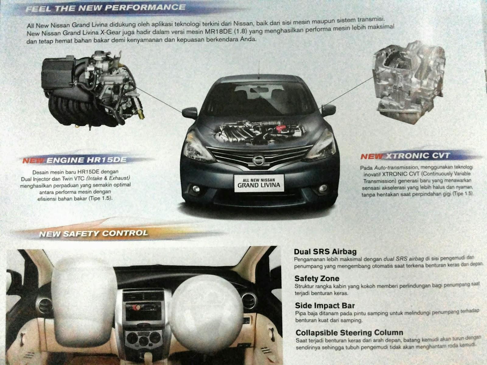 Kelebihan Grand New Veloz 1.5 Facelift Nissan Indomobil Mesin All