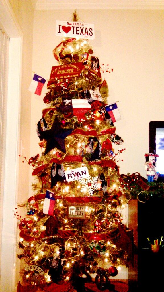 The Texas Experiment: An Ethnography: Awful, Artful Texan ...  Texans Christmas Tree
