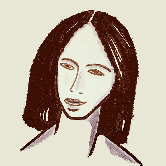 """Ilustración """"La chica de anteayer"""", Rodrigo L. Alonso"""