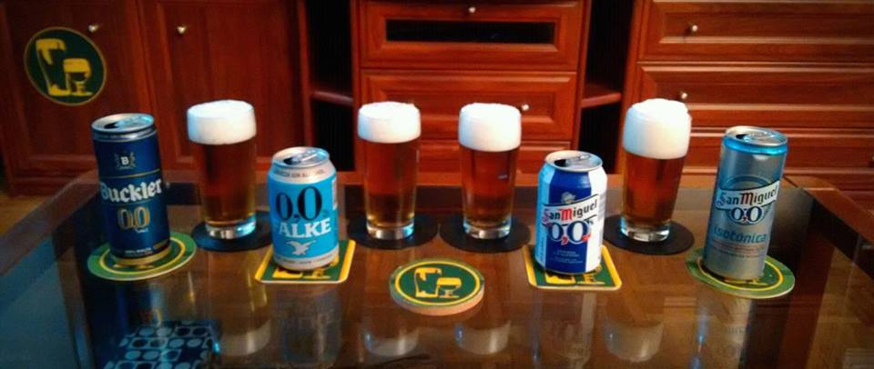 Cata comparativa de Cervezas 0,0 Sin Alcohol
