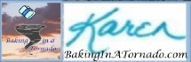 Baking In A Tornado signature/logo | www. Baking In A Tornado.com | #MyGraphics