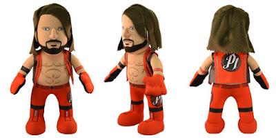 "WWE AJ Styles 10"" Bleacher Creatures Plush Figure"
