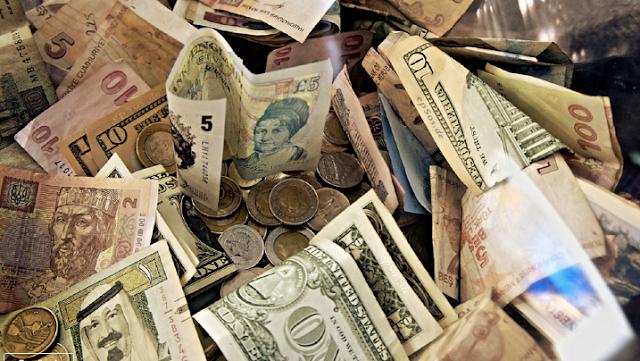 اسعار صرف العملات الأجنبية لمساء اليوم الأربعاء