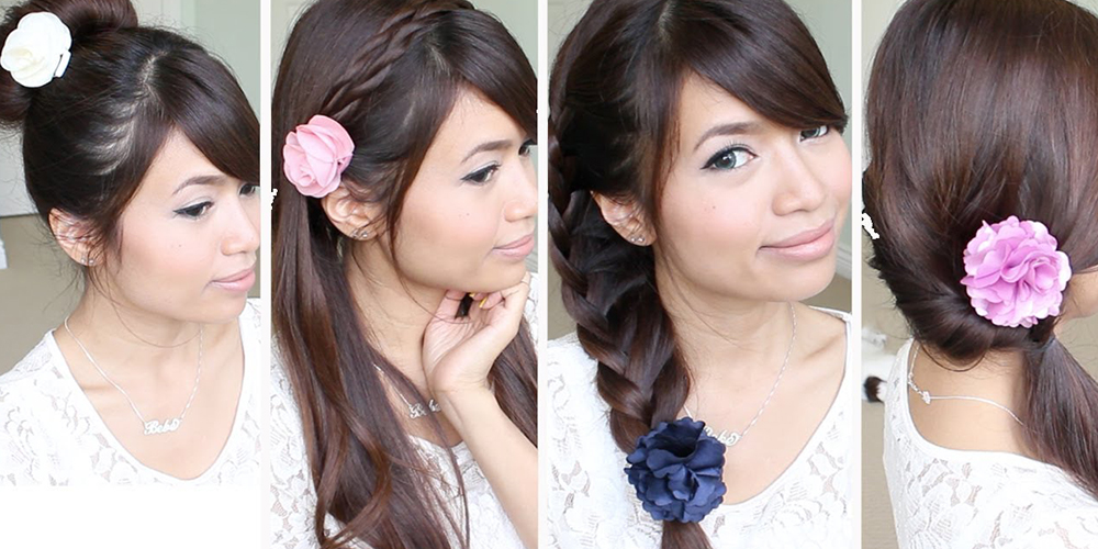 Enjoyable 6 Quick And Simple Hairstyles For Girls Tutorial Life With Styles Hairstyles For Women Draintrainus